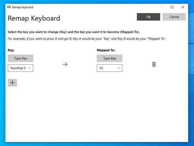 remap keyboard powertoys - thetechieguy