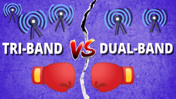 Which is better for faster internet: a Dual-band or a Tri-band router?