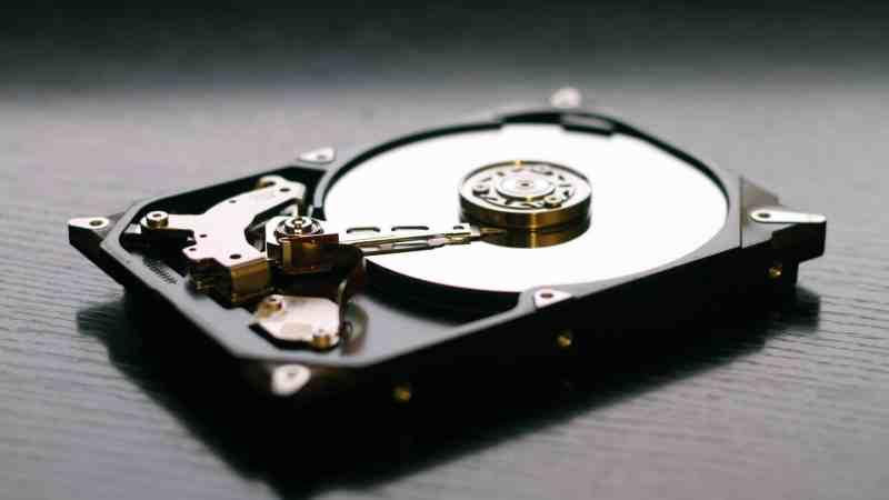 hard drive crash