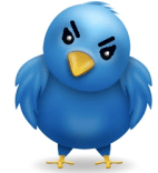 Twitter in one Angry Bird