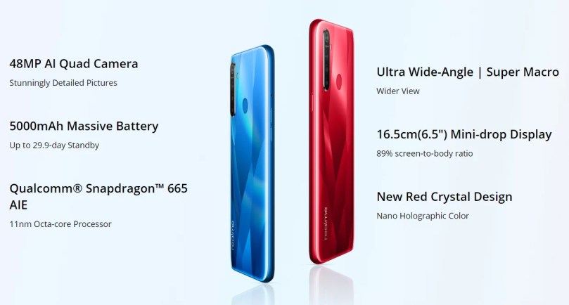 Realme 5s Launched With 48MP Quad Camera Setup