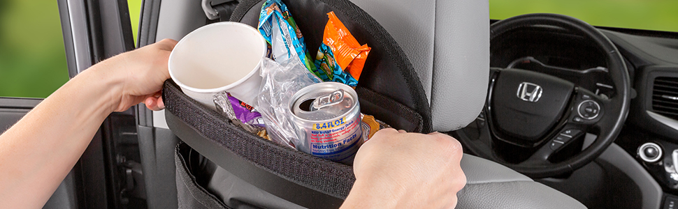 Spill-Proof Car Trash Can