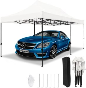 TopCamp 10x20 ft Pop up Canopy