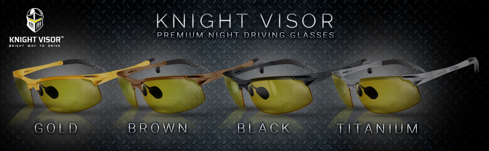 BLUPOND Night Vision Driving Glasses