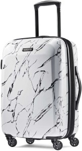 American Tourister Extremely Light Moonlight Hardcase Checked Luggage