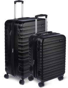 AmazonBasics Trendy Hardside Spinner Checked Luggage