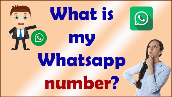 What is my Whatsapp number