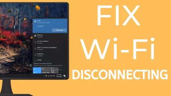fix WiFi Keeps Disconnecting