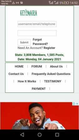 key2naira homepage