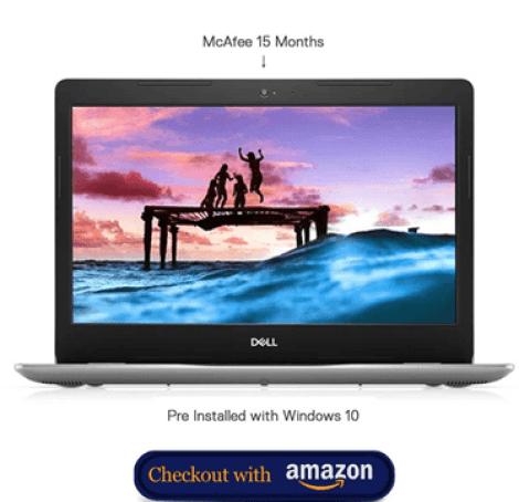 Best Laptops under 40000: Dell Inspiron 3493