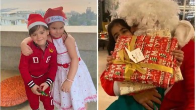 Twinkle Khanna shares Christmas memory of Akshay Kumar turning Santa for Nitara, Karan Johar's twins are in festive mood – bollywood