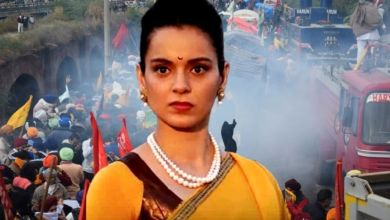 Not farmers, but terrorists!  : Kangana Ranaut