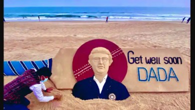 'Get well soon Dada': Sudarsan Pattnaik wishes Sourav Ganguly a speedy recovery with stunning sand art – it s viral
