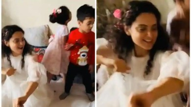 Kangana Ranaut channels her inner child on New Year brunch as she dances to Sadi Gali with nephew Prithviraj. Watch video – bollywood