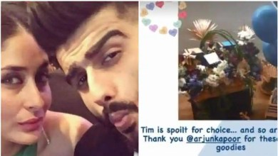 Kareena Kapoor shares glimpse inside loaded gift hamper Arjun Kapoor sent for Taimur. See here – bollywood
