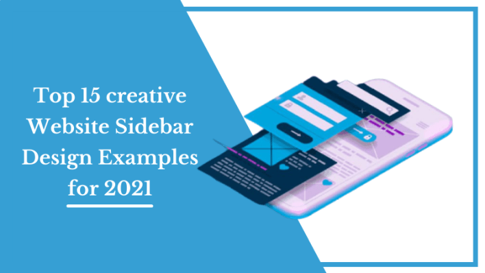 Top 15 creative Website Sidebar Design Examples for 2021