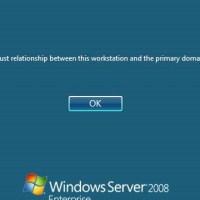 How To Fix Trust Relationship Error In Windows Domain