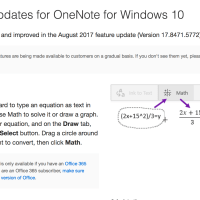 OneNote for Windows 10 Gets Update