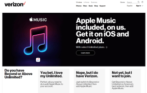 verizon apple music