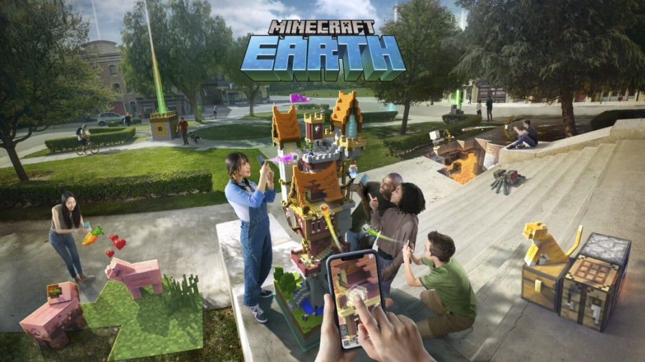 Minecraft Earth is Now Available in the U.S.
