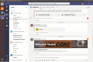 microsoft teams for linux