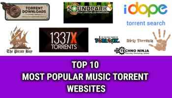 TOP 10 MOST POPULAR MUSIC TORRENT WEBSITES