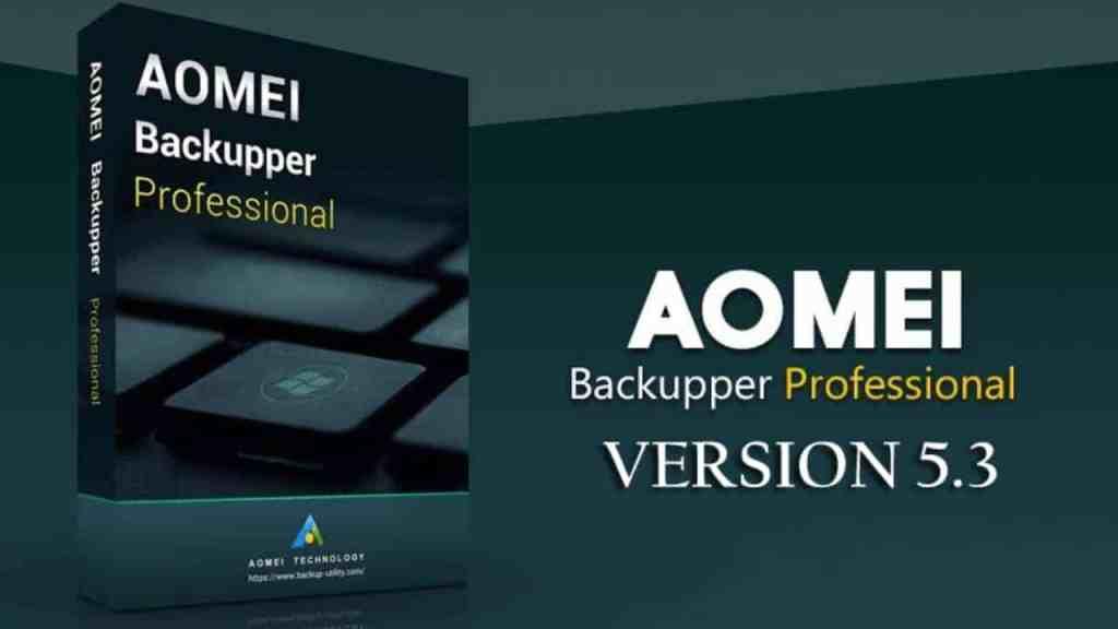AOMEI Backupper Standard Tool