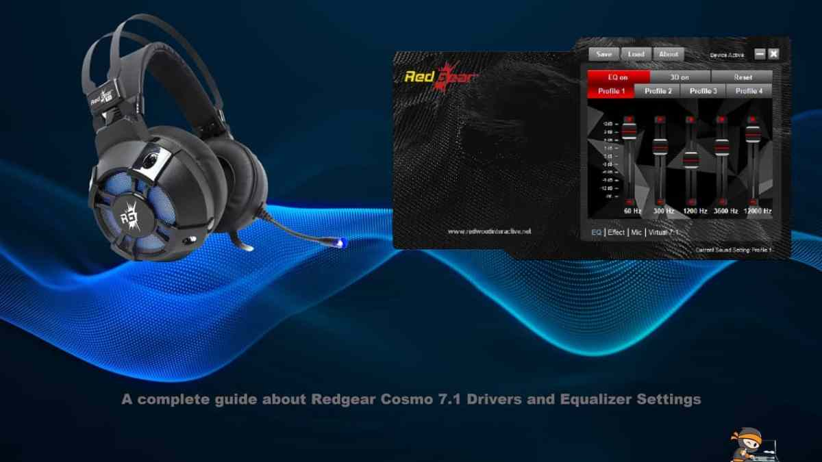 A Complete Guide: Redgear Cosmo 7.1 Drivers and Equalizer Settings