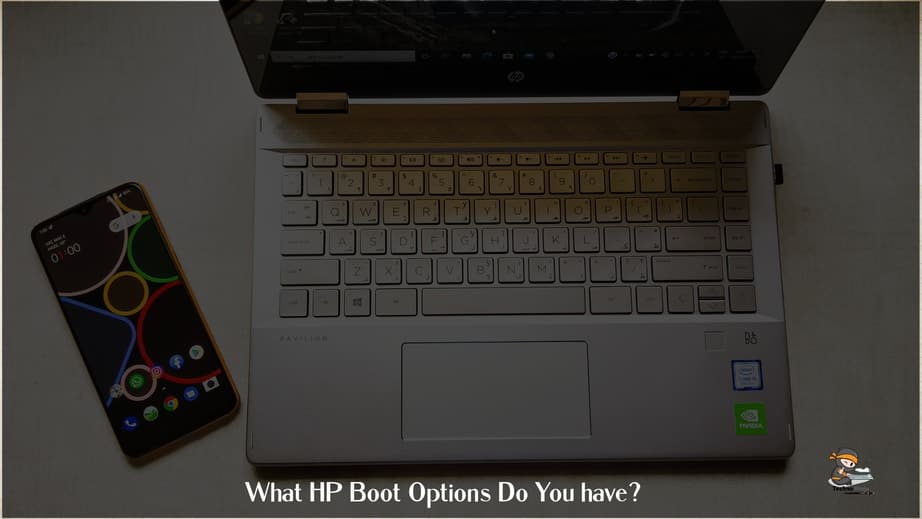 What HP Boot Options Do You have?