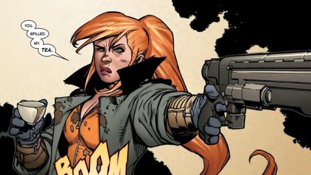 Marvel's Elsa Bloodstone.