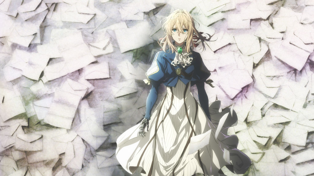 Violet Evergarden Key Art