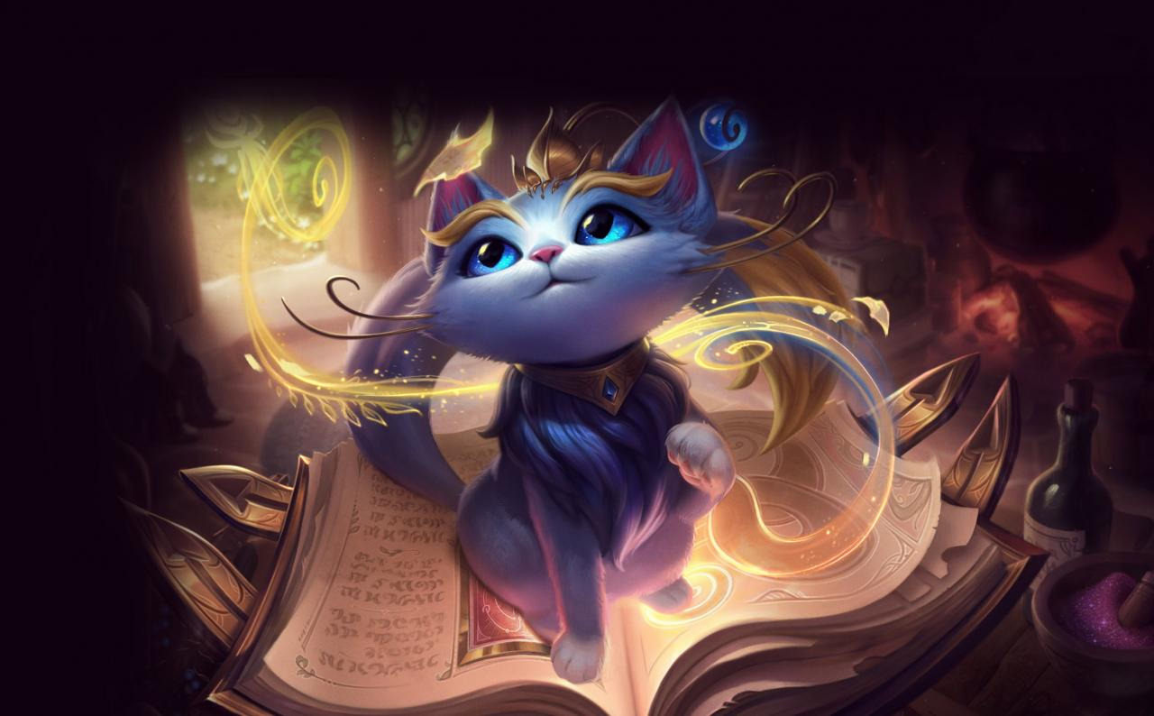 League of Legends New Support Champion Yuumi the Magical Cat