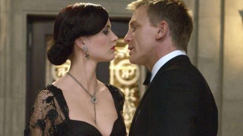 Daniel Craig and Eva Green in Casino Royale. via hindustantimes.com