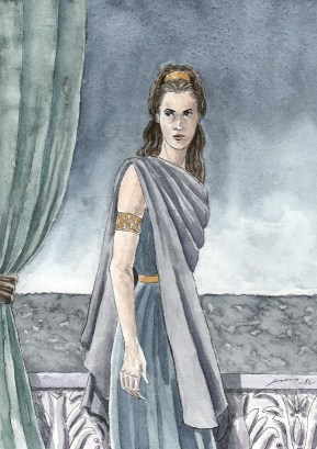 Tar-Ancalimë, the First Ruling Queen of Númenor, by Szilvia Szarvas via lotr.fandom.com