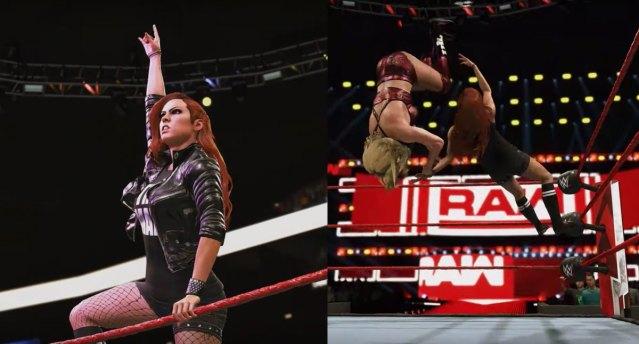 Becky Lynch in WWE 2K20
