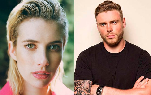 Emma Roberts and Gus Kenworthy play the leads in American Horror Story: 1984. via IMDB.com and articlebio.com