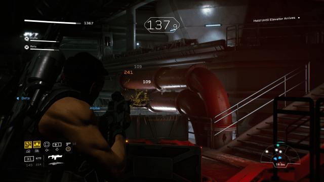 Horde Mode in Aliens: Fireteam Elite