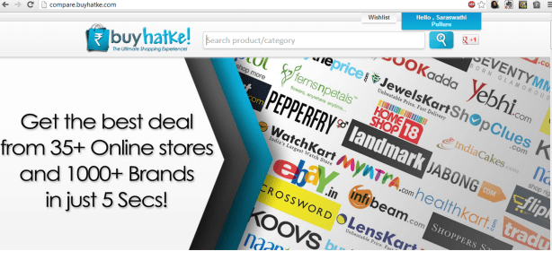 BuyHatke.com homepage