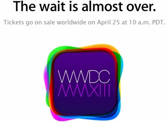 Tickets for WWDC 2013 Sell Out in Two Minutes