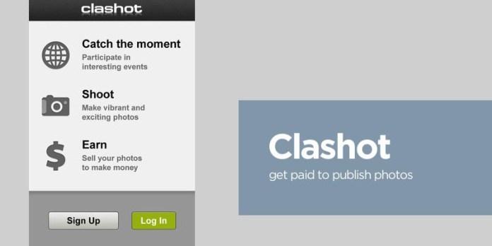 Clashot, App, Review, Stock, Photography, Photo, iPhone, Earn, Money, Depositphotos
