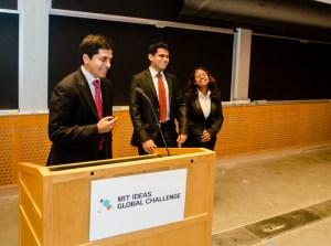 MIT IDEAS Award Ceremony Award Acceptance Speech
