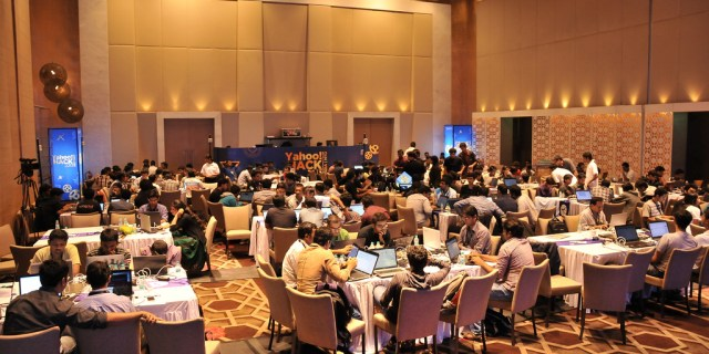 Yahoo! Hack event