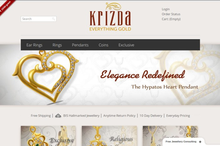 Krizda - Exquisite Jewellery made affordable and Free Shipping to your doorsteps