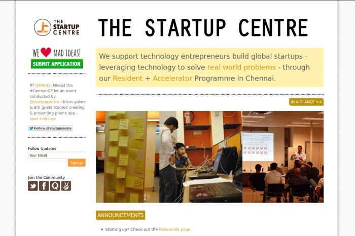 Vijay Anand on The Startup Centre, Entrepreneurship in India and his favorite book!