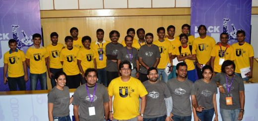 Winners -  Hack U at IIT Bombay with Yahoo! Team_2013