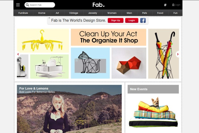 Fab.com Raises $10 Million from SingTel Plans to move into Asian Markets