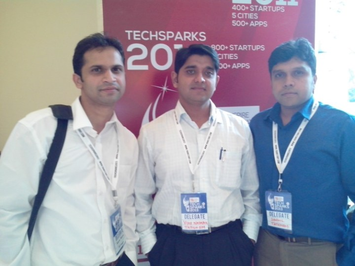 Team Tationem at the TechSparks Event