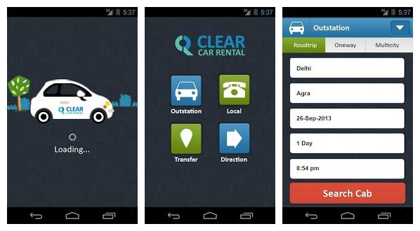 clear car rental