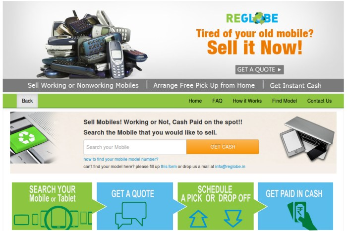 SnapDeal and ReGlobe Team up to allow users sell their Old Gadgets for Instant Cash