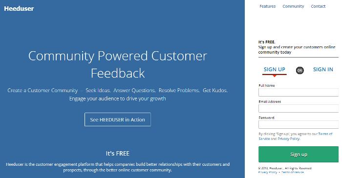 Heeduser- Helping Better Customer Interaction